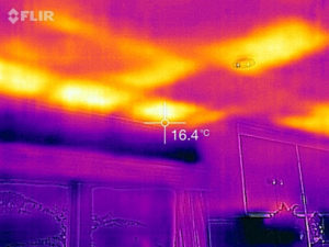pre purchase home inspections - thermal imaging
